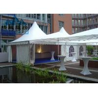 Best White Color Pagoda Canopy Tent With Flooring System All Ground Situations wholesale