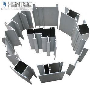 Best Powder painted / Anodized Aluminium Window Profiles , aluminium extrusion sections wholesale