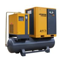 Best Airhorse Portable screw air compressor 7.5kw,10hp combined with dryer,air tank and line filters wholesale