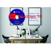 Buy cheap Microsoft Win 10 Pro Product Key Software Sticker 64bit DVD + OEM key Activation Online from wholesalers