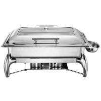 Best SQUARE 6L CHAFING DISH FOOD WARMER 804F-2 wholesale