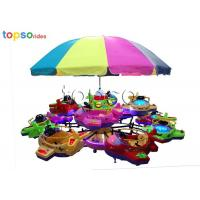 Best Kids Park Rides Indoor And Outdoor 12-seat Rotary lifting Small Aircraft wholesale