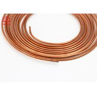 Best 5 / 16 Inch Copper Pancake Coil Custom Length For Refrigerator / Water Heater wholesale