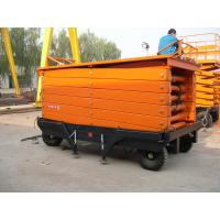 Buy cheap Best manufacturer 14m Height Mobile Hydraulic Scissor Work Lift Table from wholesalers