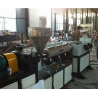 HDPE Electrical Wire Corrugated Plastic Production Line Single Screw