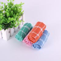 Best Household 35.5*35.5cm Usage Checker Kitchen Tea Towels With Custom Microfiber Printed wholesale