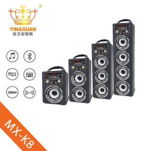 China portable wooden karaoke bluetooth speaker wireless portable speaker on sale