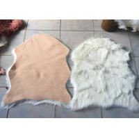 Best Kitchen Faux Fur Australian Sheepskin Rug Durable Comfortable With Artificial Wool wholesale
