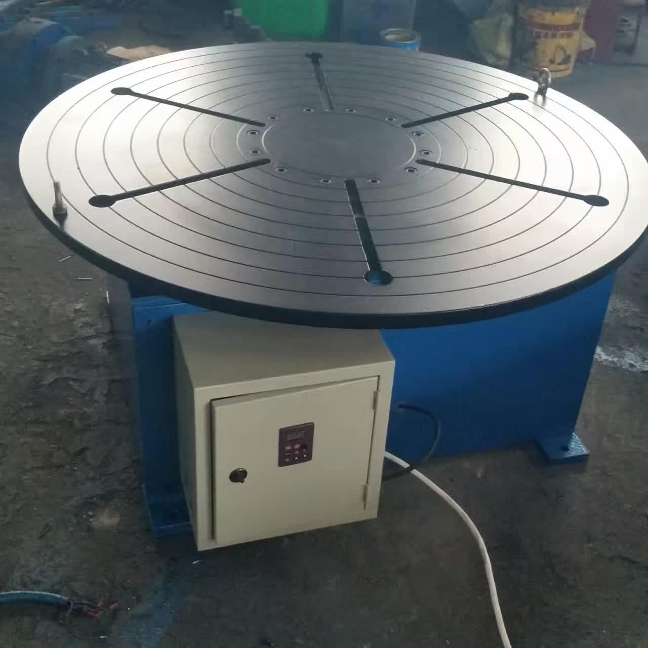 Best Pipe Revolving Table For Welding For Round Seam Welding Rotary Table With Round Table Supporting 15 Tons wholesale