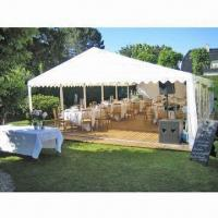 China Event/party/big tent, made of PVC material, available in various colors on sale