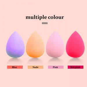 Best Non Toxic Face Makeup Sponge Egg , Purple Foundation Egg Sponge wholesale