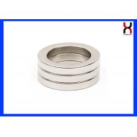 Buy cheap Permanent Neodymium Ring Shaped Magnet Donut MagnetsWith Straight Hole / from wholesalers