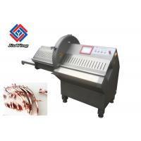 Best 200pcs / Min Meat Processing Machine Automatic Frozen Meat Slicer With Gentle Circular Blade wholesale