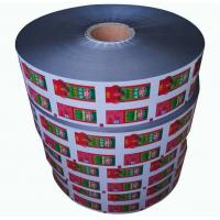 Quality Small Sachet Ketchup Packaging Roll Film for Restaurants , Packaging Roll Film wholesale