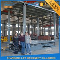 China 3T Double Deck Car Parking System 2 Car Stacker for Private Villa Double Car Parking Lift on sale