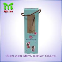 Best Full Color Custom Recycled Paper Counter Top Display Stands with clear window wholesale