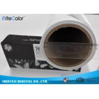 Best Latex Ink Printing Matte Polyester Canvas 260GSM Brighter White Surface No Cracking wholesale