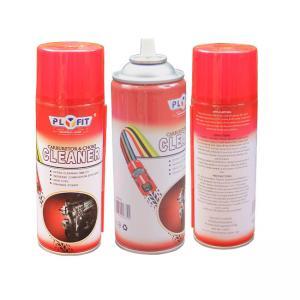 Best Oem Logo ISO9001 Tinplate 400ml Aerosol Carburetor Cleaner wholesale