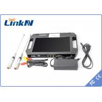 Best Digital Portable Video Receiver / COFDM Receiver With 10.1 Inch LCD Screen wholesale