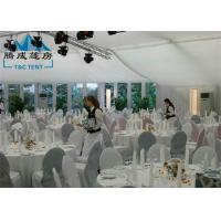 Best 10x18M New Design Marquee Party Tent With ABS Walls / Steel Panel Walls wholesale