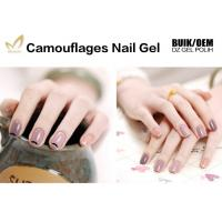 Best 1kg Bulk Colorful Camouflage Nail Gel OEM / ODM Nail Builder Gel For Salon wholesale