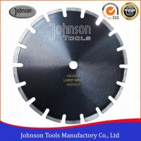 """Best 12""""-24"""" Smooth Cutting Asphalt Saw Blades With Drop Protection Segment wholesale"""