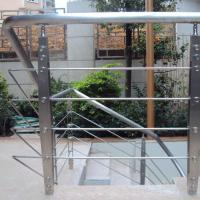 Cheap Best Quality s.s Solid Rod Bar Railing Price / Balcony Stainless Steel Rod Bar Railing Design for sale