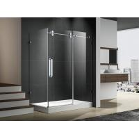 Best Hinge open zhejiang shower enclosure with stainless steel 304 accessories 6mm temper glass wholesale