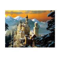 Best Stock Neuschwanstein Castle 3D Lenticular Living Room Painting Picture PET Printing wholesale