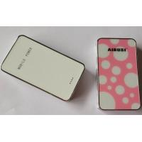 Best Mobile Phone Portable USB Power Bank White With 5000mah Lithium Ion Battery wholesale