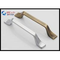 Buy cheap Modern 192mm Kitchen Cabinet Handles And Knobs / American Stylish Square Zinc Drawer Knobs from wholesalers