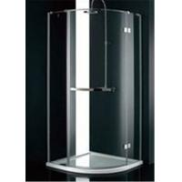 Best Stainless Steel Frame Glass Bathroom Shower Enclosures , B&Q Shower Cubicles For Home wholesale
