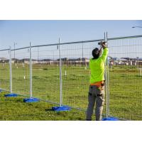 Buy cheap Custom Detachable Australian Temporary Fencing For Major Public Safety from wholesalers