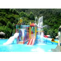 Best Indoor / Outdoor Water Park Construction Customized Kids Fun Amusement Projects wholesale