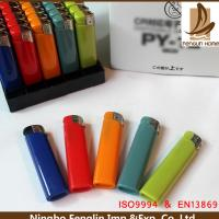 Best Custom Blue / Pink / Green Abs Flame Cigarette Gas Lighter 45.5x24.5x30cm wholesale