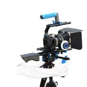 Best Dslr rig movie kit with shoulder mount+Hand Grip+Follow Focus+Matte BoxFor Camcorder wholesale