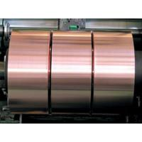 Best 0.05mm Thickness Copper Foil Strips , Mill Finish Battery Copper Foil Laminate wholesale