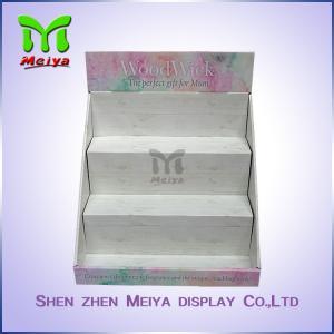 Best Custom Cardboard Counter Display Stands , Perfume Bottle Retail Display Racks wholesale
