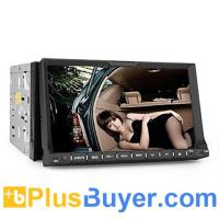 China 2 DIN 7 Inch Car DVD Player (GPS, TV, Bluetooth, RDS) on sale