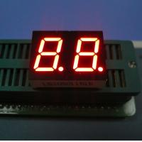 China Multiplexed Dual Digit Seven Segment LED Display Dual Digit Wide Viewing Angle For Clock Indicator on sale