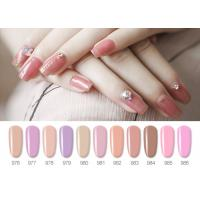 Best Sweet Color Pink Lovely Jelly Gel Nail Polish With Uv Light 10ML 12ML 15ML wholesale