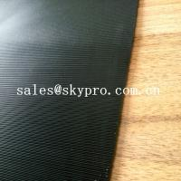 Best 3.5mm Diamond Black Rigid Rational Construction Natural Shoe Sole Rubber Sheet wholesale