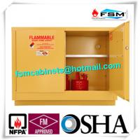 Best Flame Proof Hazmat Storage Cabinets Single Door For Cylinder / Paint / Chemical wholesale