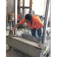 Buy cheap 2018 Stainless Steel Render Brick Block Wall Plastering Rendering Machine with from wholesalers