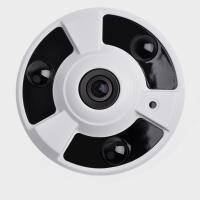 Best H.265 3.0MP Starlight 2.1mm Infrared Fisheye IP Camera fisheye surveillance camera wholesale