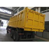 China Euro 2 HOWO Tipper 6x4 Sinotruk Dump Truck / Huge Dump Truck 30-40 Tons on sale