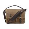 Buy cheap Waterproof Canvas Messenger Bag , Canvas Briefcase Messenger Bag 12.2