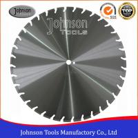 Best Laser Welded Concrete Diamond Blades , Diamond Concrete Cutting 600-1600mm wholesale