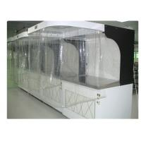 China ISO 5 Photoelectric Industrial Laminar Air Flow Cabinet Hood Filtered 220V / 60HZ on sale
