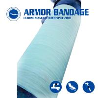 Buy cheap Hot Sale Flexible Rapid water activated fiberglass tape Wrap for Water Pipe/ gas pipe /oil pipe Leak crack repair from wholesalers